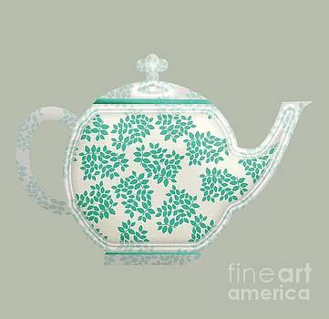 Teapot Garden Party 1 by J Scott