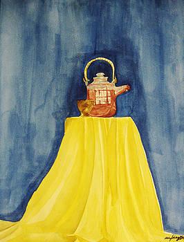 Teapot by Mic DBernardo