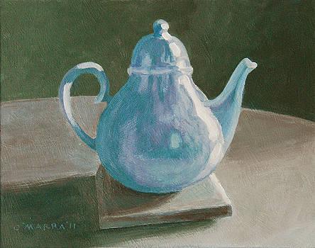 Teapot Still Life by Allan OMarra