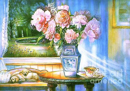 Teatime and Dreams by Patricia Schneider Mitchell