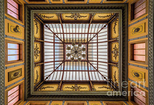 Teatro Juarez Ceiling by Inge Johnsson