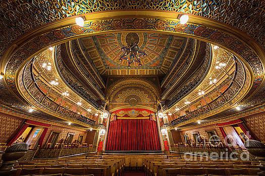 Teatro Juarez Stage by Inge Johnsson