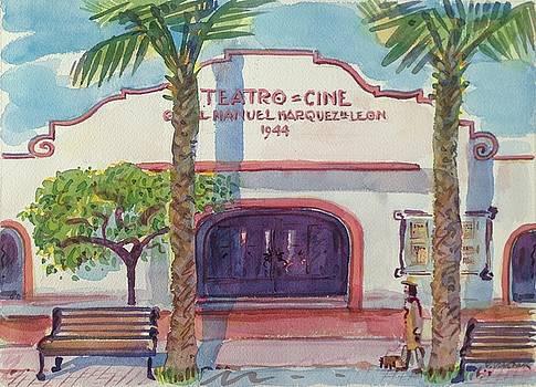 Teatro, Todos Santos by Virginia Vovchuk