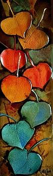 Technicolor Leaves by Carol  Nelson