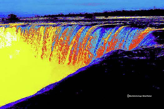 Technicolor Niagara Falls by Michael Chatman