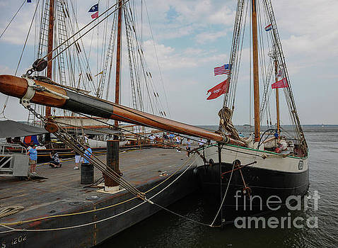 Tecla Tall Ship Bow by Dale Powell
