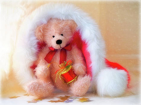 Ted Is Ready For Christmas - Impressions 2 by Susie Peek