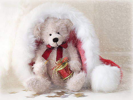 Ted Is Ready For Christmas - Impressions by Susie Peek