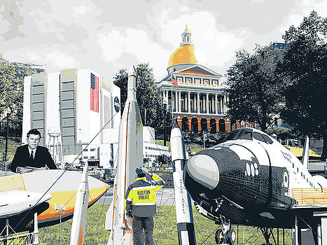 Ted Kennedy Space Center, Boston Common by Shay Culligan