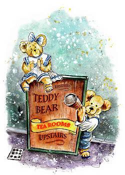 Miki De Goodaboom - Teddy Bear Tearoom In York
