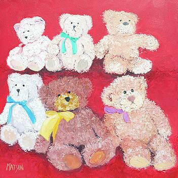 Jan Matson - Teddy Bears
