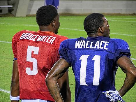 Kyle West - Teddy Bridgewater and Mike Wallace