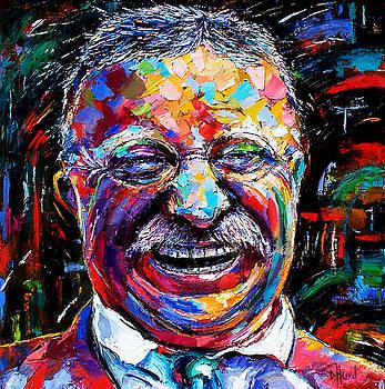 Teddy Roosevelt by Debra Hurd