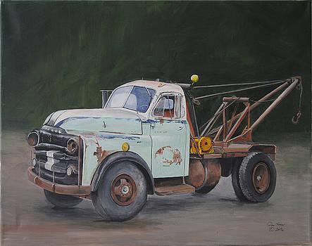 Ted's truck by Glen Frear
