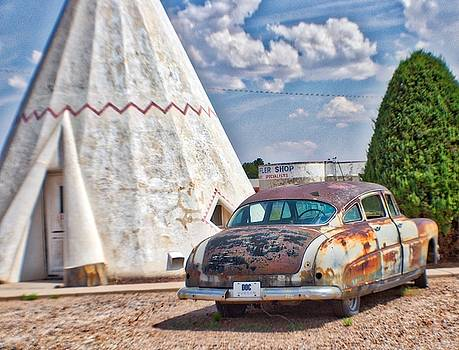 TeePee and Car by Dori Basilius