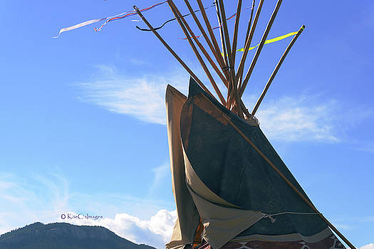 Teepee Smoke Flaps by Kae Cheatham