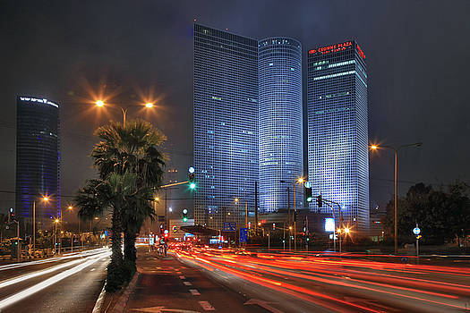 Zoriy Fine - Tel Aviv at night