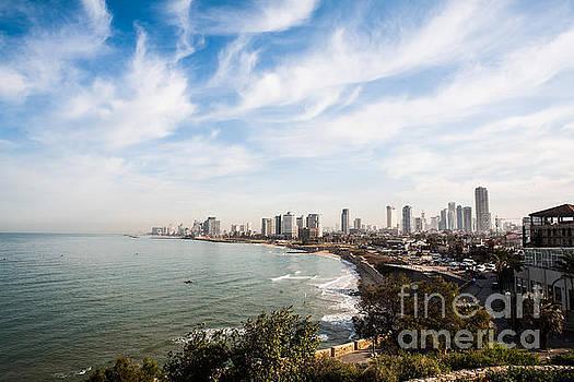 Tel Aviv Cityscape by Kaitlyn Suter