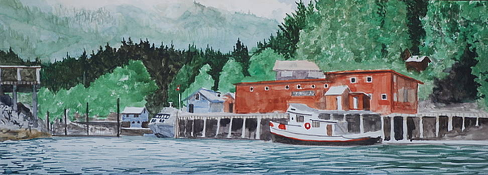 Telegraph Cove by James Nuce