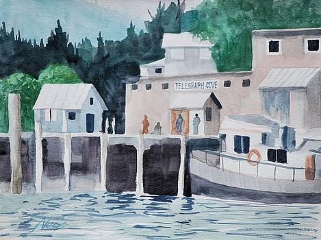 Telegraph Cove Pier by James Nuce