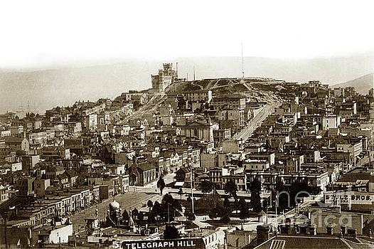California Views Mr Pat Hathaway Archives - Telegraph Hill and Washington Square.  Circa 1890