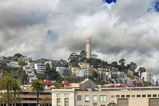 Telegraph Hill Neighborhood Homes in San Francisco by David Gn