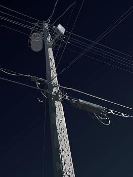 Telephone Pole - Onyx by David Lange