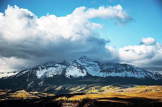 Telluride Colorado in the Fall by Heather Grow