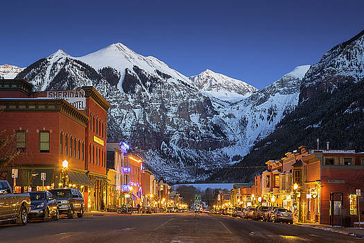 Telluride Main Street 3 by Whit Richardson