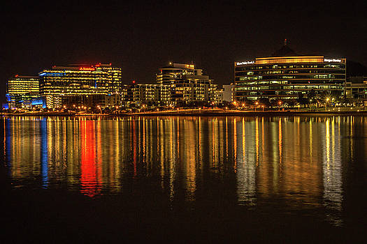 Rosemary Woods-Desert Rose Images - Tempe Town Lake at Night-img_126516