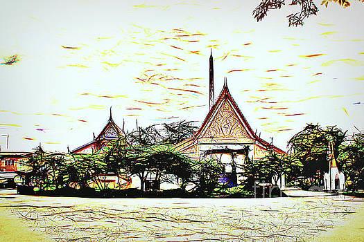 Temple by David Lane
