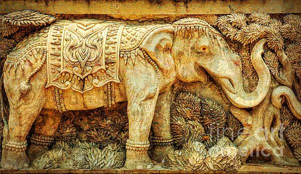 Adrian Evans - Temple Elephant