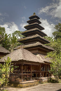 Temple in Bali by Kamala Saraswathi