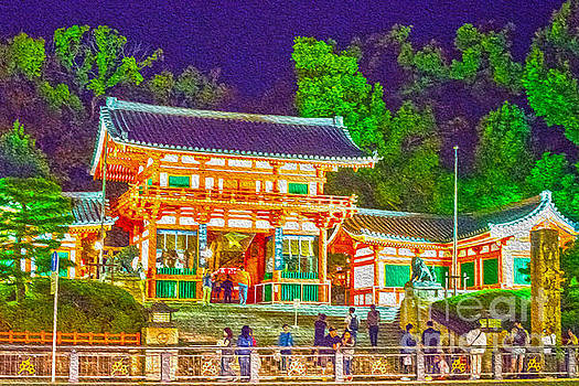 Pravine Chester - Temple in Kyoto