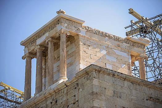 Eduardo Huelin - Temple in the Acropolis Athens Greece
