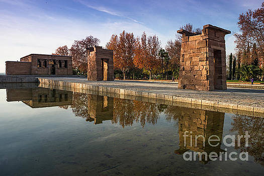 Temple of Debod by Andrew Michael