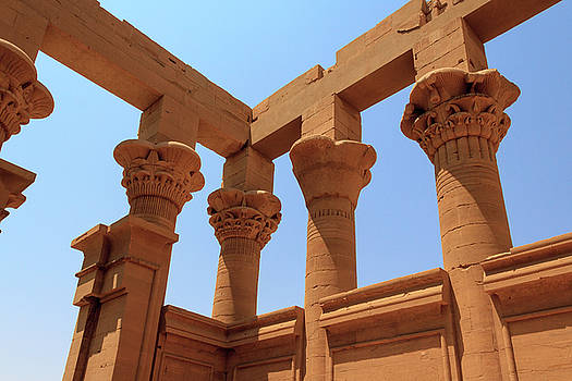 Temple of Isis  by Silvia Bruno