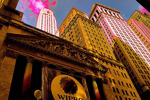 Art America Gallery Peter Potter - Temple of Money - New York Stock Exchange