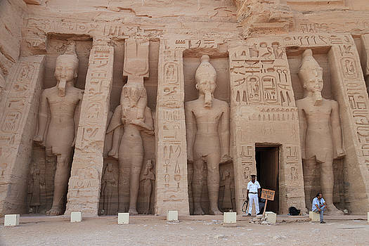 Temple of Nefertari by Silvia Bruno
