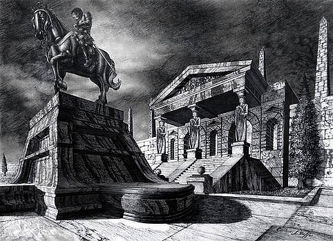 Temple of Perseus by Curtiss Shaffer