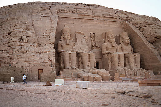 Temple of Rameses II by Silvia Bruno