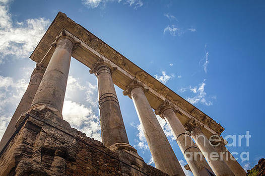 Temple of Saturn by Inge Johnsson