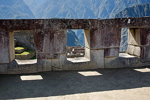Aivar Mikko - Temple of the 3 Windows in Machu Picchu