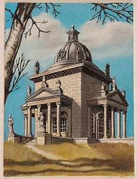 Temple Of The 4 Winds At Castle Howard by Joseph Greenawalt