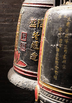 Temple of Thien Hau Bells by For Ninety One Days
