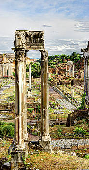 Weston Westmoreland - Temple of Vespasian and Titus