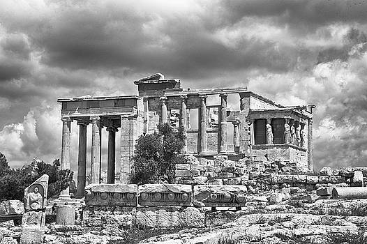 Temple on the Acropolis by Lynn Andrews