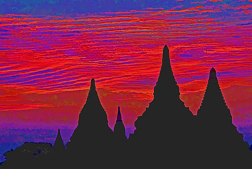 Dennis Cox WorldViews - Temple Silhouettes