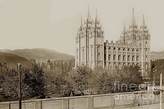California Views Mr Pat Hathaway Archives - Temple Square, worldwide headquarters of The Church of Jesus Christ 1919