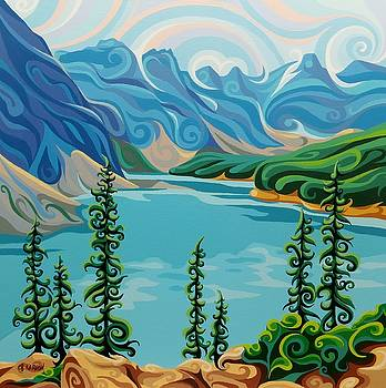Ten Peaks by Christine Karron